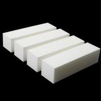 Hot Sale 5Pcs Nail Art Buffer File Block Pedicure Manicure Buffing Sanding Polish White