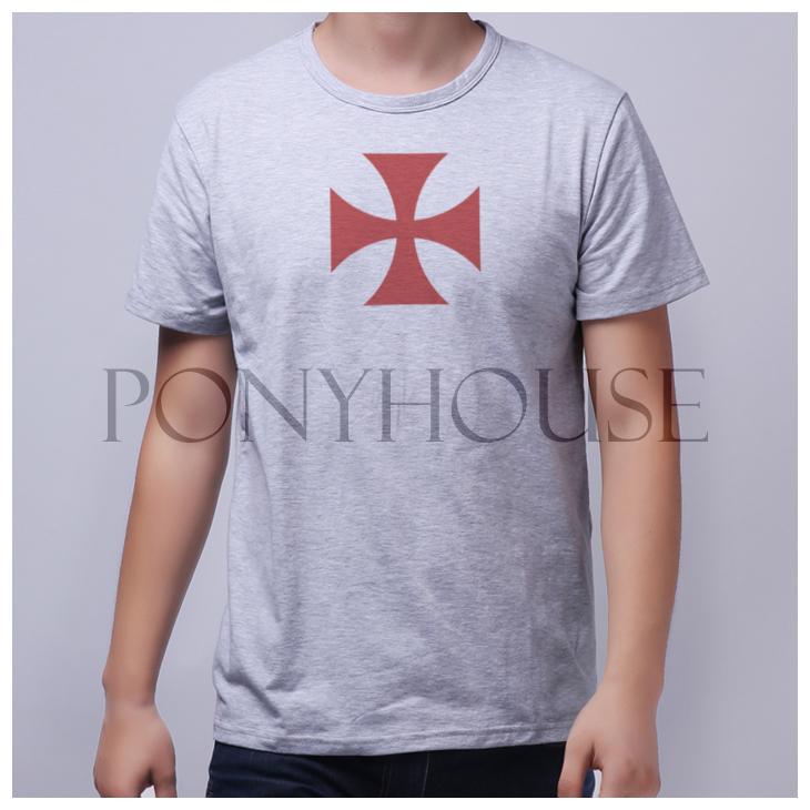 Knights Templar Symbols t Shirt Templar Primer Shirt Leisure Knights Templar Short Sleeved t Shirt Men