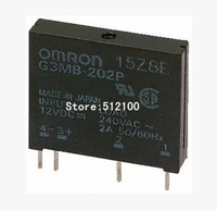 100 pcs G3MB-202P DC-AC PCB SSR In 12VDC,Out 240V AC 2A Solid State Relay