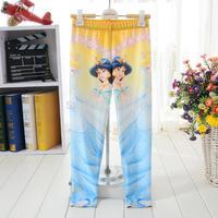 4 pcs/lot  girls galaxy 3D princess pattern leggings / cute children tights / kids skinny pants