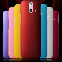 Free Shipping! Colorful Rubber Matte Hard Back Case for HTC One E8 High Quality Frosted Protect Back Cover, HCC-100
