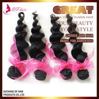 DF:Brazilian Virgin Hair Loose Wave Natural Color,100% Unprocessed Curly Brazilian Virgin Hair,Cheap Brazilian Loose Wave