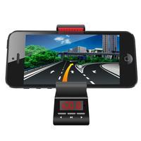 handsfree car kit speaker GPS game holder mobile phones MP3 FM transmitter handsfree calls Mobile navigation bracket clip FM29