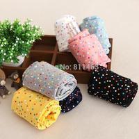 2015 spring gilrs colourful polka dot leggings/ fashion children tights / kids pencil pants