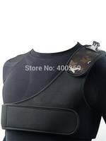 Black Adjustable Shoulder Belt Strap For Go Pro Hero 4/3+/3/2/SJ4000 shoulder harness mount  GP212