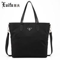 Best quality nylon shoulder bag brand new women's handbag fashion canvas big bag of holding messenger bag