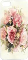 Hand Drawing Pink Flowers Floral Hard Unique Designer Slim case for apple iphone 5 5S 5G