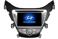 HY ELANTRA 2011-- 8 in Touchscreen DVD GPS Navigation Radio Bluetooth Steering Wheel Control RDS SD/USB Car Rear Camara Free Map