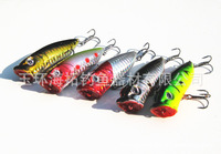 (65mm/13g)Lot 10pcs Red Eye Random Colors Fishing Lures Crankbait Minnow Hooks Crank Baits Swimbait b0037