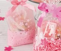 Pink scrub bread bags West bags biscuit bags candy bag food packaging bag