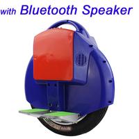 14' 35KM Self Balance Unicycle Monocycle Segway Electronic Scooter Wheelbarrow Single Wheel Walking Rover with Bluetooth Speaker