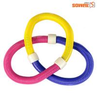 Spring hula hoop thin waist abdomen drawing lose weight hula hoop child floptical fitness circle