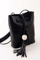 2014 new mini retro bucket bag wild fringed shoulder bag influx of women fashion handbags PU leather Messenger Bag