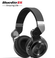 Newest Bluedio T2+ TF Card+FM vedio Stereo Bluetooth Headset noise canceling headphone wireless Headphones