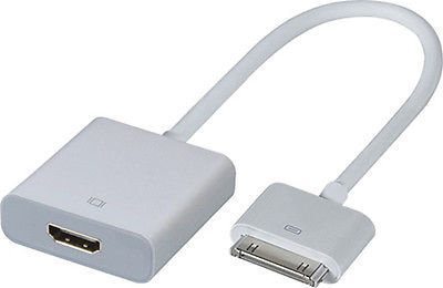 1080P Dock Connector to HDMI Adapter AV Cable HDTV TV For iPhone 4 4s For iPad 2 3(China (Mainland))