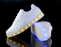 Don't lamps colorful light Luminous lovers shoes sneakers light USB charging mailed free men and women