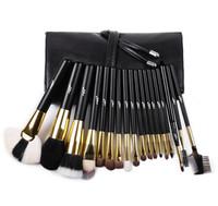 Bangor New Arrival 18pcs professional makeup brush set with customized makeup brushes