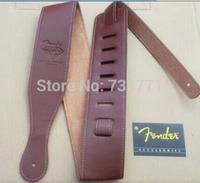 Free shipping Brown brand guitar strap, widening, folk guitar straps, electric guitar, electric bass strap