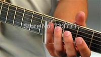 60mm   Clear Glass Bottle Finger Knuckle Electric Guitar String Slide 22mm/18mm