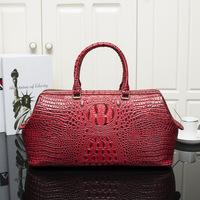 Excellent !!! Luxury genuine leather women's bag alligator handbag for ladies shoulder bag women messenger bag wholesale price