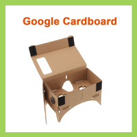 10PCS DIY Google Cardboard Valencia Quality 3D VR Virtual Reality Glasses Without NFC
