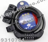 Lock wang general tonyon ty537 bicycle lock motorcycle lock ring-type lock 12*1200mm