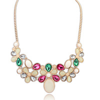 Accessories 2014 trend accessories fashion vintage baroque gem short design necklace