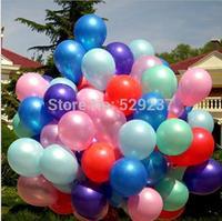 Free Shipping~2pcs/lot 10 inch Latex balloons advertising  balloons pearl balloons decoration