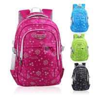 2015 New nylon waterproof kids backpack lightening mochila infantil travel bag children school bags for girls boys