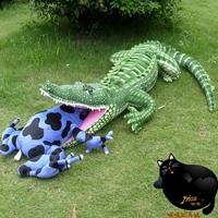 Super-lifelike 102cm Large Crocodile Plush Toys. Plush Pillow. Exquisite Imitation Toy Craft. Unique Photography Props