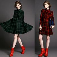 Freeship DHL 2014 Brand Ladies Wool Blends coat Women's Cloth Coat,Lady Fashionable Overcoat