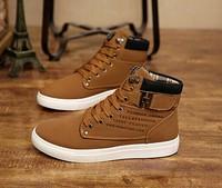 1Pair Men Shoes Autumn Winter Warm High Men's Casual Canvas Shoes Fashion Boots Street Sneakers EUR39-44 bz871485