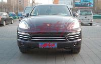 Fog car lights  cover +front center grille grill cover trim 8PCS  for Porsche Cayenne 2011