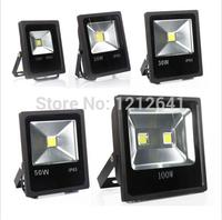 Free 85V-265V 10W 20W 30W 50W 70W 100W 120W 150W 200W Outdoor LED Floodlight lamps Waterproof LED flood light Garden