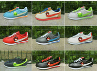 Autumn new spell color sneakers lace casual shoes couple models fall new spell color 36-44