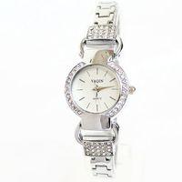 Hot New Fashion Brand Wristwatches Rhinestone Bracelet Chain Round Luxury Brand Watches for Women Elegant Gift