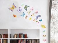 Cartoon Animal Relay Elephant Companions Children Bathroom Bedroom Lovely Decorative Wall Stickers