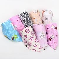 Fashion Baby Kid Toddler Bandana Bibs Saliva Towel Dribble Triangle boy girls cotton Head Scarf children cravat infant towel