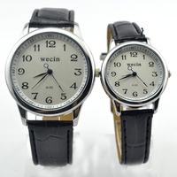 Valentine's Day Gift Quartz Modern PU Watches  Free Shipping (Pair Price =2PCS)XWT101