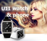 New U11 Smart Bluetooth Watch phone WristWatch Support SIM Card SD Card for iPhone Samsung HTC Android Phones updated U8 /U9 U10