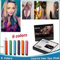Pastel Hair Dye Color Chalk  Hair Colour Chalk Colorful Hair Dye Chalk Temporary Color Hair Chalk Dye