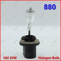 10 PCS 12V 27W 880 Halogen Bulb  Car Headlight & Fog lamp Universal Supper Bright Transparent Quartz Glass waterproof  ^^KKK