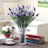 Lavender artificial flower set overall floral artificial flower set dining table decoration flower artificial flower home