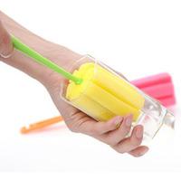 20pcs/lot Wholesale Kitchen Cleaning Tool Sponge Brush For Wineglass Bottle Coffe Tea Glass Cup Mug SQF543