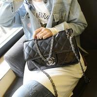 2014 small plaid chain bag fashion vintage one shoulder handbag cross-body women's handbags small bags