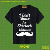 Tx101 100% cotton t-shirt for men and women roll fuhua for sherlock