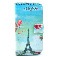New sell retro colored drawing pu leather case for motorola G wallet card holder back case for moto XT1028 XT1032 cell phone bag