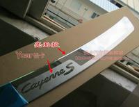 outer rear bumper guard plate 1PCS   for Porsche Cayenne 2011 2012  2013
