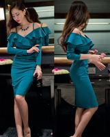 sexy dress women plus size club dresses party vestidos festa backless Spaghetti Strap gown