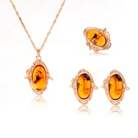 18k gold plated crystal jewrlry sets Vintage Luxury jewelry sets Female Crystal Accessories Statement Jewelry sets 2014 NEW